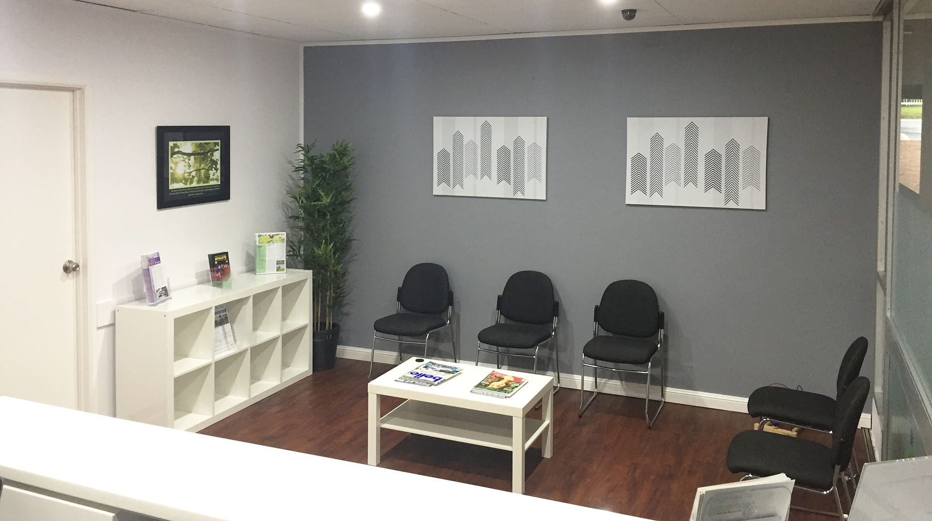 Central Coast Chiropractic Waiting Room